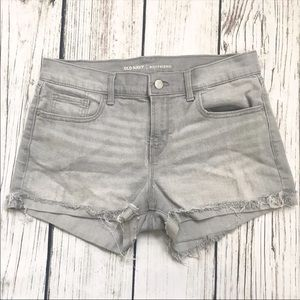 Old Navy Gray Boyfriend Jean Shorts 8